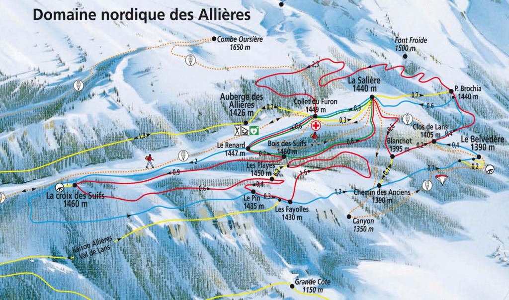 Domaine nordique des Allières - Lans en Vercors