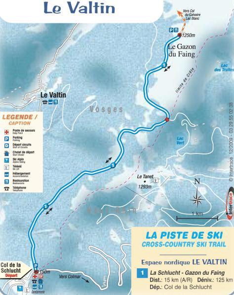 Valtin - Piste de ski de randonnées
