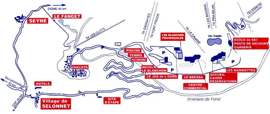 chabanon plan de la station