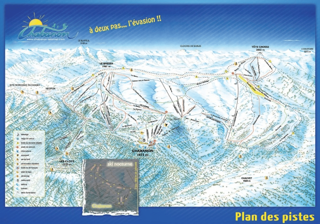 chabanon plan des pistes