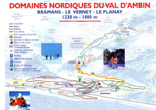 val d ambin bramans plan ski de fond