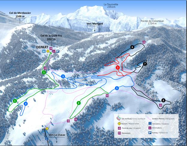 Manigod - Ski de fond