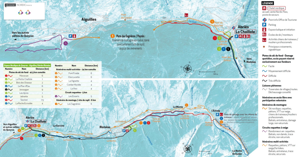 Ristolas en Queyras - Ski de fond