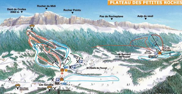 Saint hilaire du touvet - ski de fond