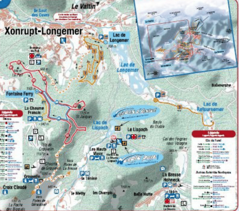 Xonrupt - ski de fond