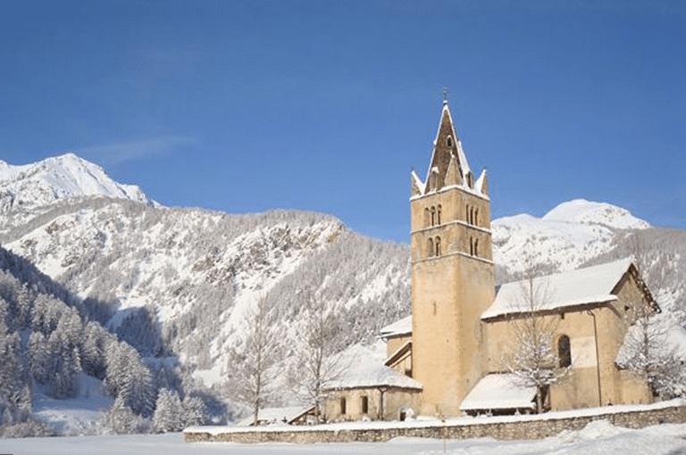 Arvieux en Queyras en hiver