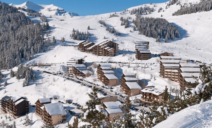 Auris-en-Oisans en hiver