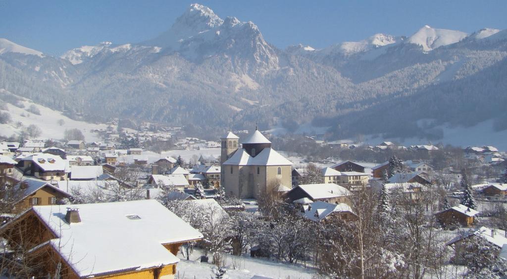 Bernex en hiver