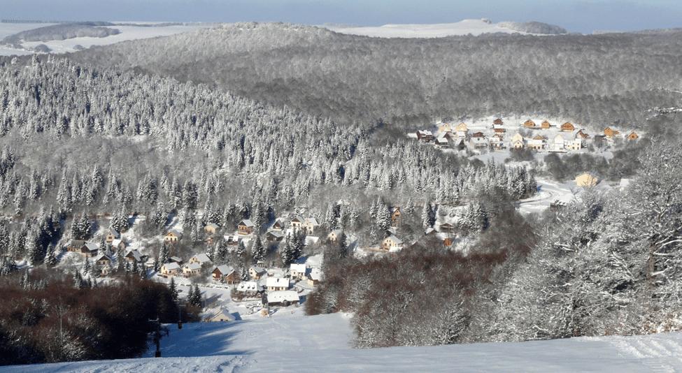 Brameloup en hiver