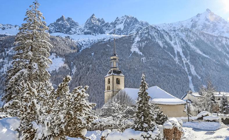 Chamonix hiver