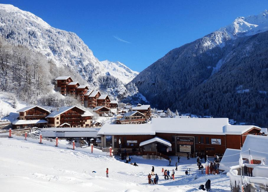 Champagny en Vanoise en hiver
