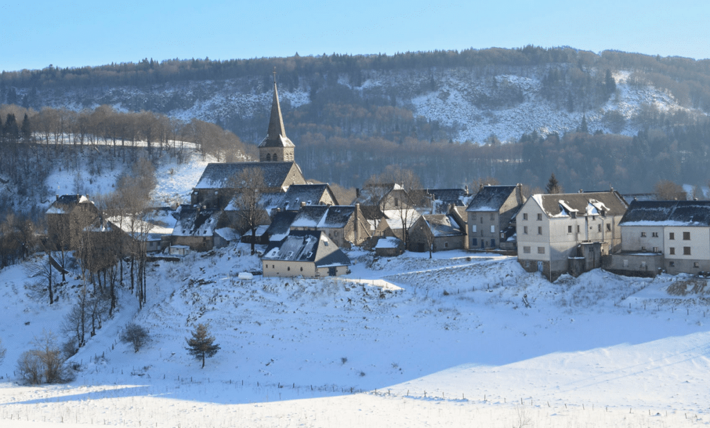 Chastreix Sancy en hiver