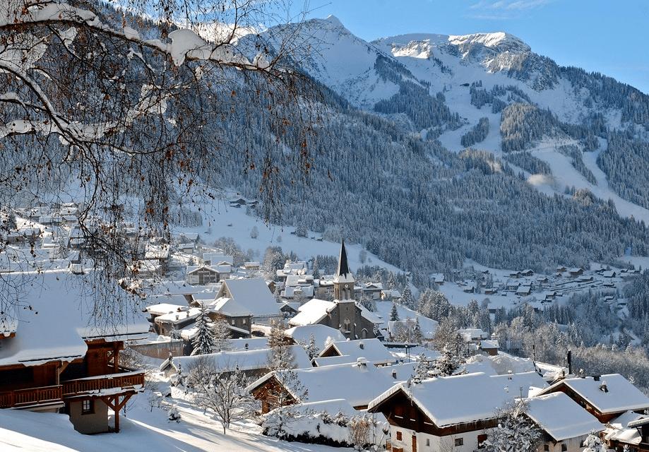 Chatel en hiver