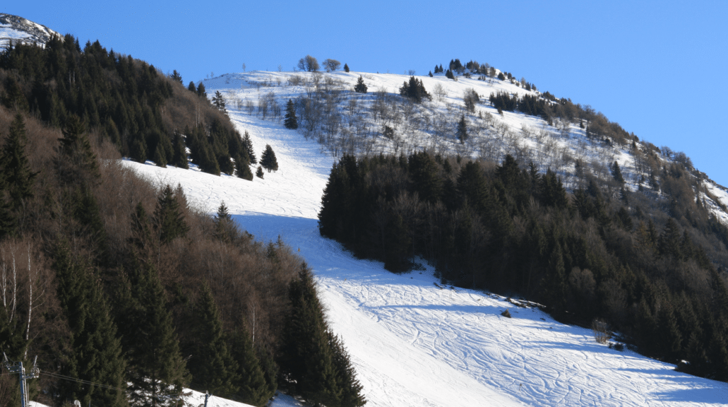 Col d'Ornon en hiver