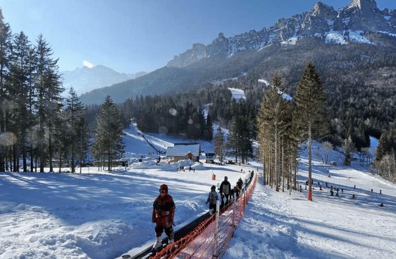 Col de Marcieu en hiver