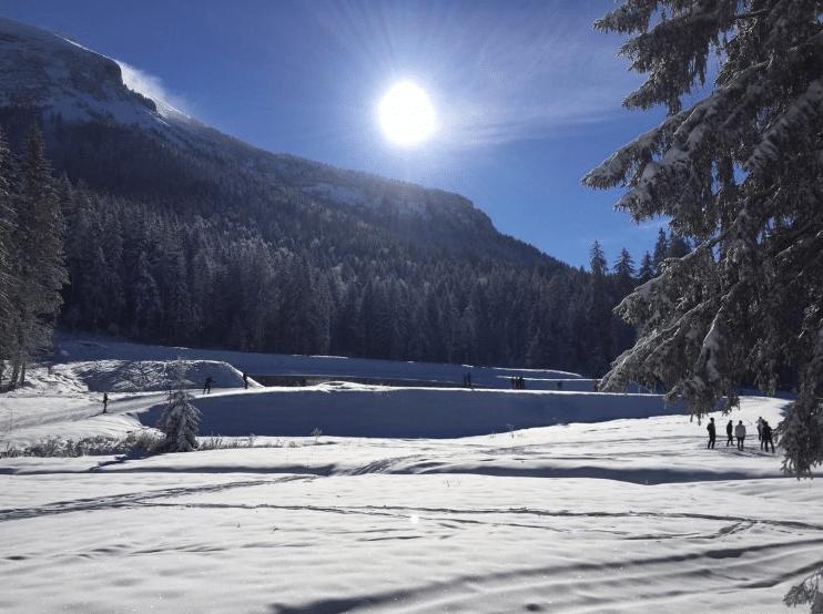 Col de Porte en hiver