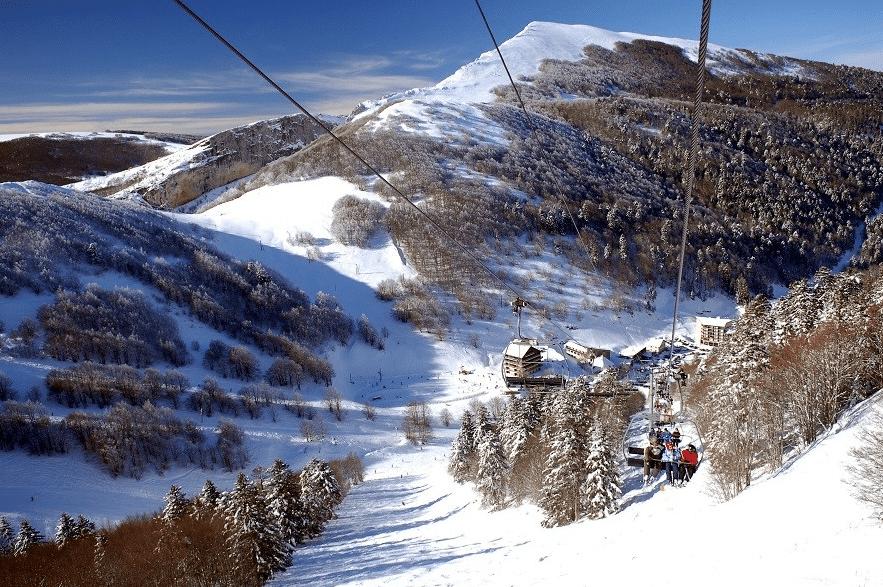 Col de Rousset en hiver