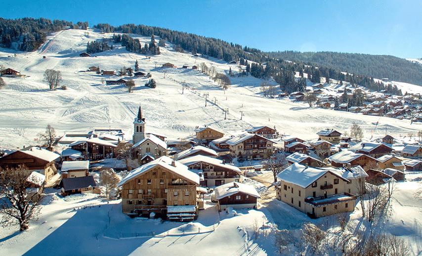 Crest-Voland Cohennoz en hiver