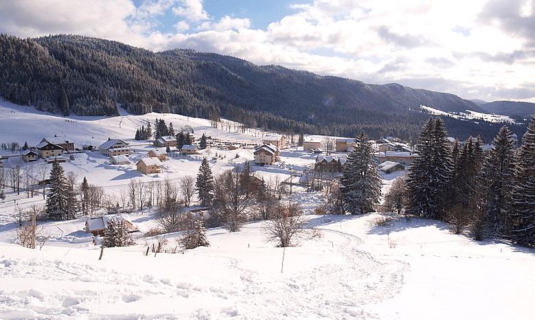 Espace Alpin de Bellefontaine en hiver