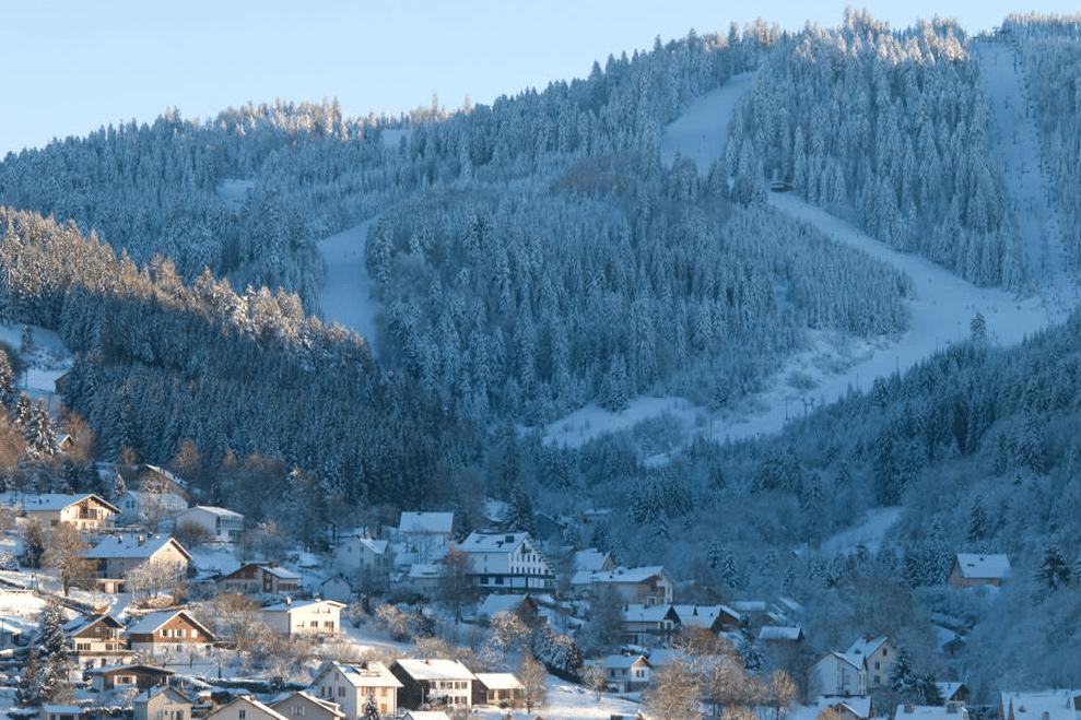 Gerardmer en hiver