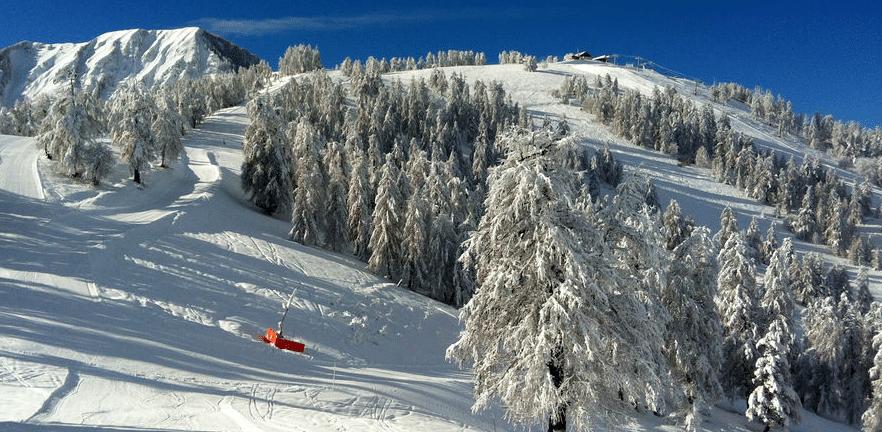 La Colmiane en hiver