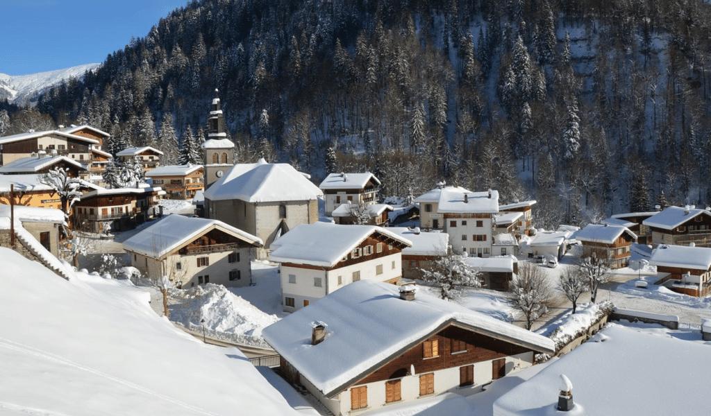 La Giettaz en hiver