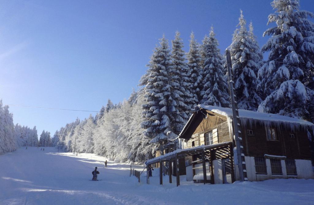 La Loge des Gardes en hiver