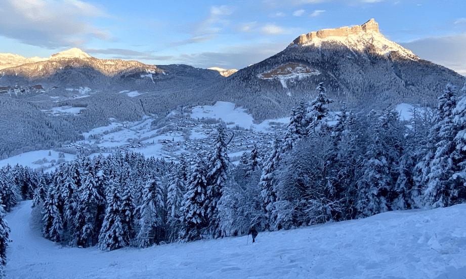 La Sappey en Chartreuse en hiver