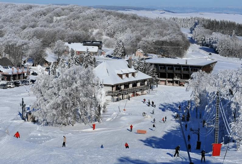 Laguiole en hiver