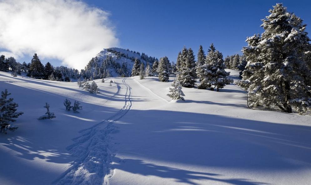 Lans en Vercors pendant l'hiver