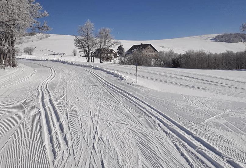 Le Ballon d'Alsace en hiver