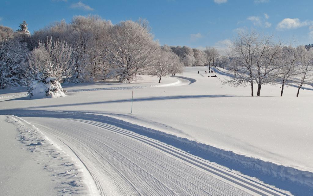 Le Chioula en hiver