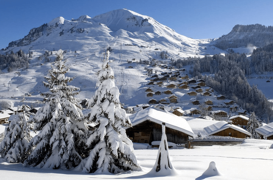 Le Grand Bornand en hiver