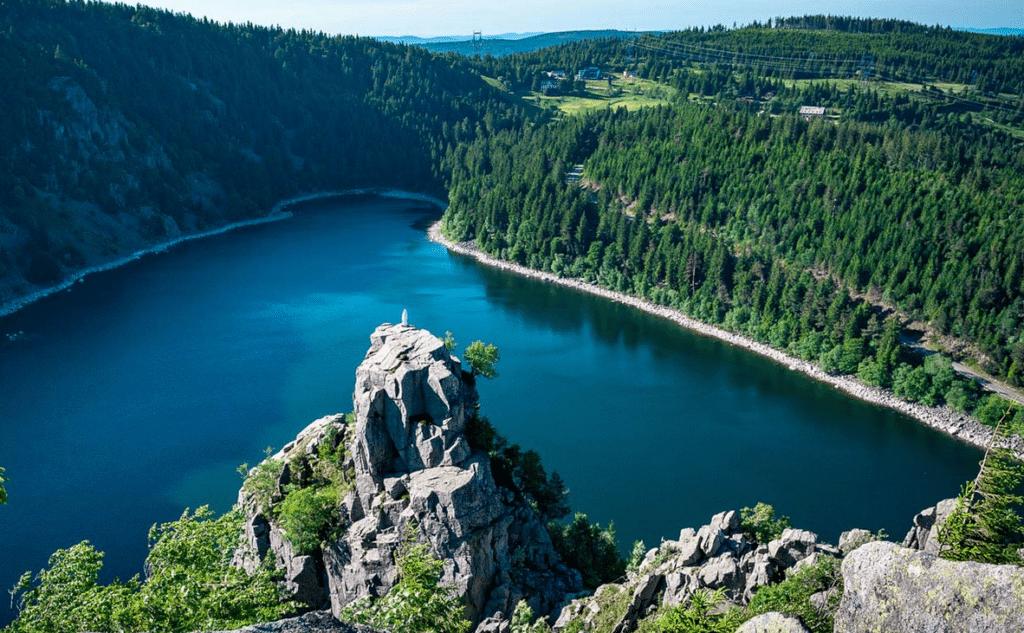 Le Lac Blanc en été