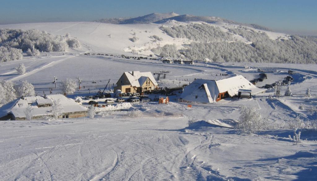 Le Markstein en hiver