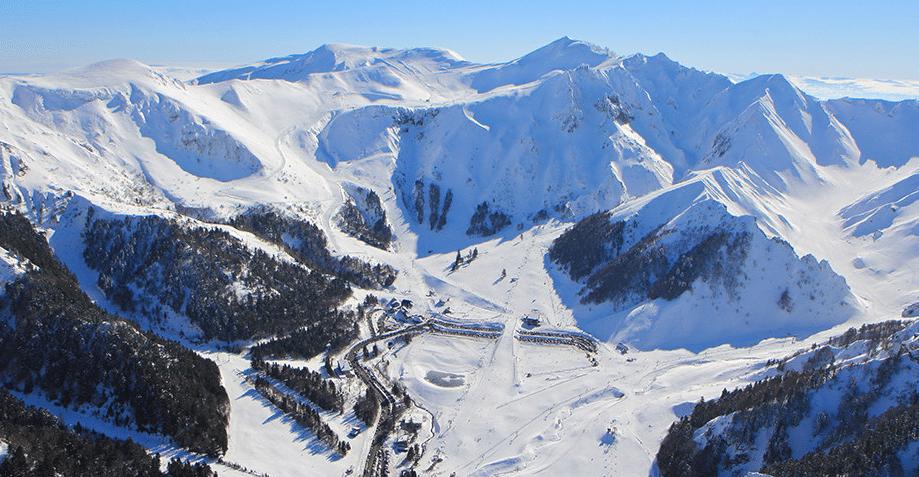 Le Mont Dore en hiver