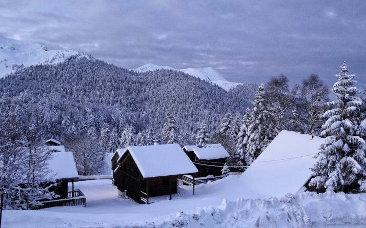 Le Mourtis en hiver