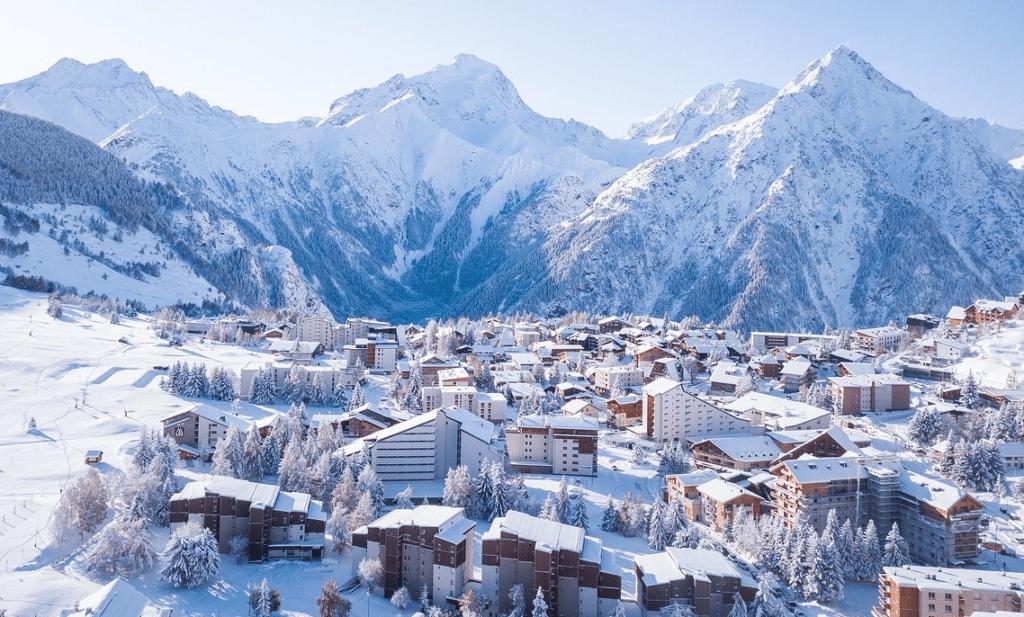 Les 2 Alpes en hiver