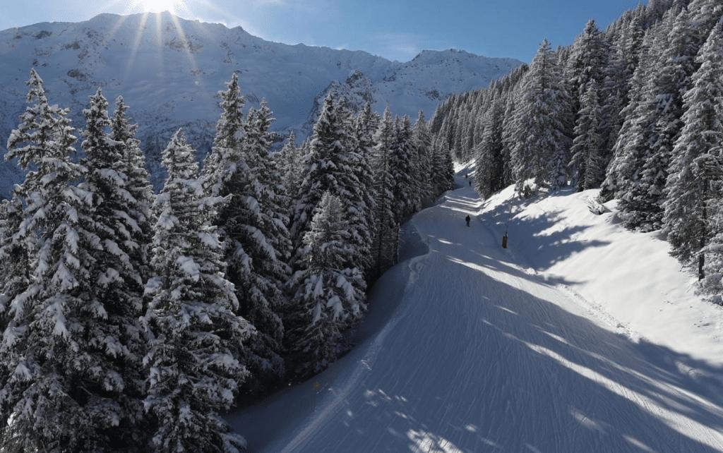 Les 7 Laux en hiver
