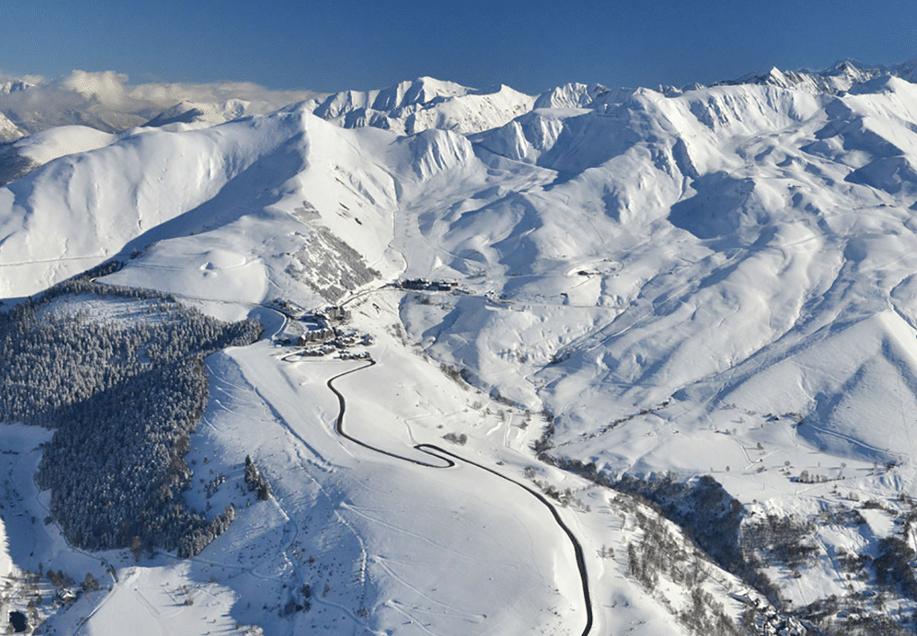 Les Agudes en hiver