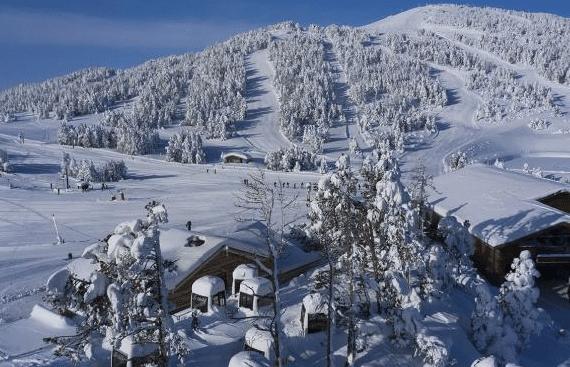 Les Angles en hiver