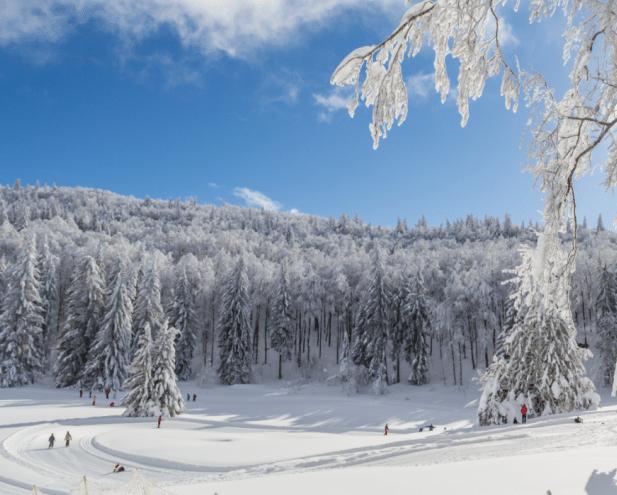 Les Coulmes en hiver