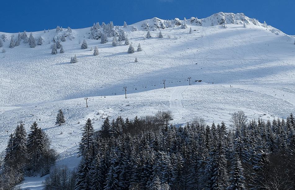 Les Habères en hiver