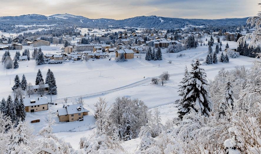 Les Rousses en hiver