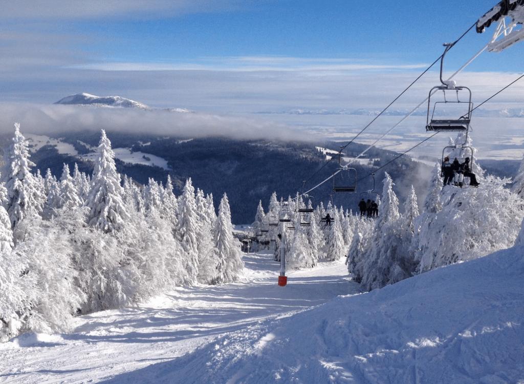 Metabief Mont d'Or en hiver