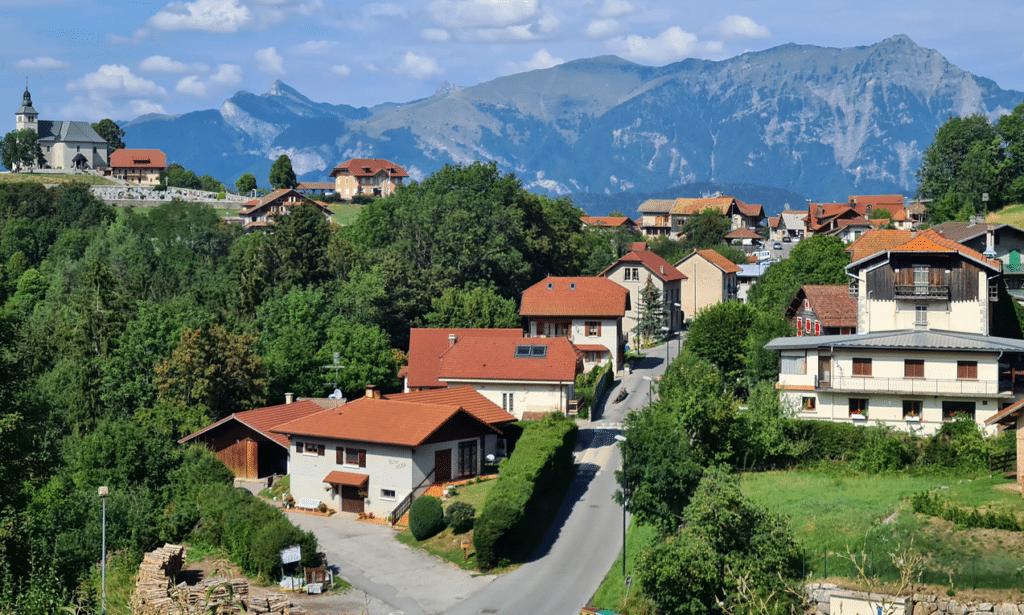 Mont Saxonnex en été