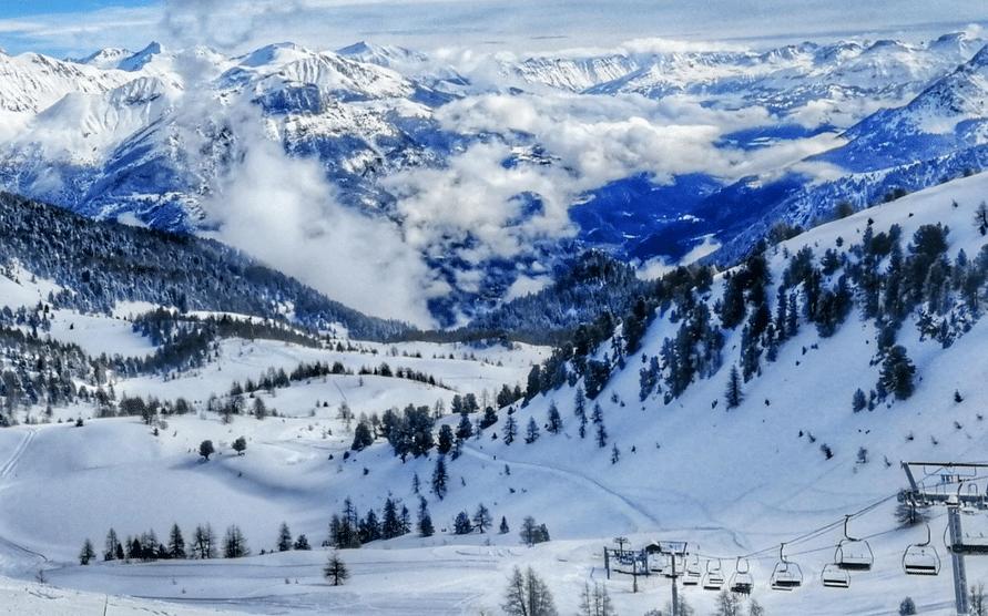Montclar les 2 Vallées en hiver