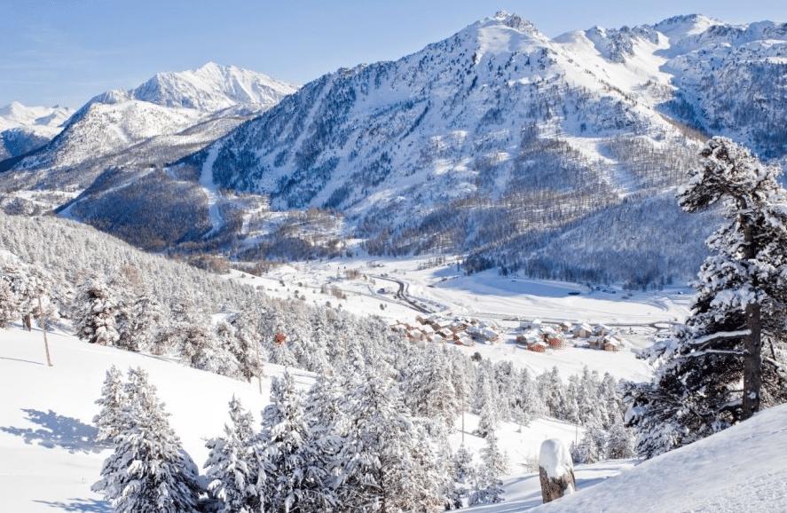 Montgenèvre en hiver