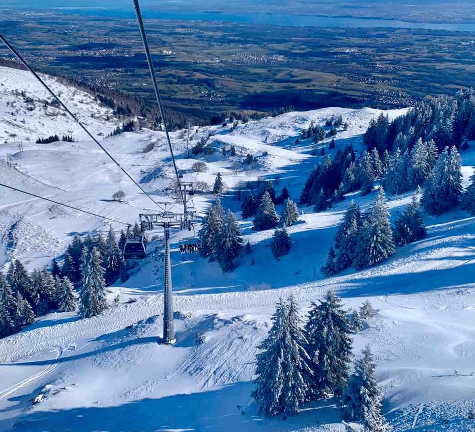 Monts Jura en hiver