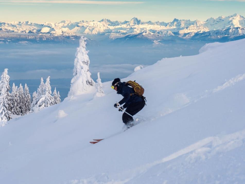 Monts Jura (en hors piste)